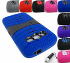 FOR SAMSUNG GALAXY AVANT G386 TMOBILE EXO STRETCH DUAL LAYER CASE COVER+STYLUS
