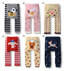 Cute Baby Toddler Boys Girls Cotton Animal Pattern Legging Tights Pants /AS