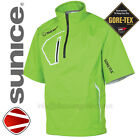 Sunice Goretex Elmont Waterproof Paclite Mens TrimFit Green Golf Jacket £99.99 !