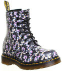 7469 Original Dr.Martens 8 EyeLet 1460 W  Mini Tydee Flower Womens Leather Boots