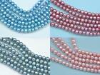 4-5mm Pink Blue Round Potato Freshwater Pearls Beads AA