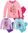 Girls Disney Frozen Pyjama Set Kids Princess Anna Elsa Pjs New Age 2 - 8 Years