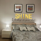 Removable Wall Room Sticker Decal Quote English Word Vinyl Decal Mural Art Decor