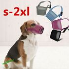 Dog Soft Mesh Adjustable Muzzle Control Barking Various Sizes 3 Colours Popular