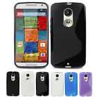 Slim Flexible TPU Gel Skin Cover Case For Motorola Moto X 2nd Gen (2014 Version)