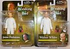 Breaking Bad Jesse Pinkman and Walter White Action Figure in White Hazmat Suit