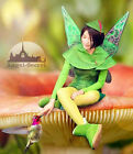 WN1 Tinkerbell Fairy fancy kid Adults Costume Wings photo shooting iridescent