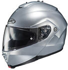 HJC IS-Max II Modular Solid Full Face Helmet SIlver All Sizes