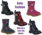 Girls Childrens Fashion Ankle Boots Kids Shoes By Chatterbox UK Size 4-10