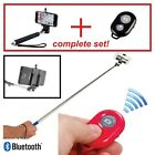 Monopod Selfie Stick & Bluetooth Remote for Android & Iphone GoPro Extendable