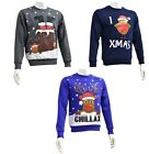 QUALITY MENS CHRISTMAS XMAS JUMPER JUMPERS SANTA WINTER WARM RUDOLPH ADULTS GIFT