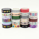 1X 15mm Width Decoration Washi Tape For DIY Craft Making Sticker Free Shipping