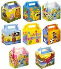 CHILDRENS KIDS BIRTHDAY THEMED LUNCH FOOD BOXES PARTY LOOT BAG WEDDING  GIFT