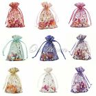 "200 Strong Organza Rose Pouch 4""x 6"" 10x15cm Wedding Favor Candy Bag"