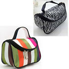 Women Cosmetic Makeup Organizer Bag Travel Toiletry Bag Case Container Handbag