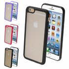 """Color Transparent TPU Gel Gummy Cover Case For Apple iPhone 6 4.7"""" Inch"""