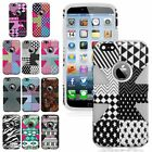 """For Apple iPhone 6 4.7"""" New Design Dynamic Slim Hybrid Silicone Hard Cover Case"""