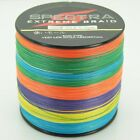 100M-2000M Multi-Color 6-300LB Spectra Dyneema PE Fishing Line Braided