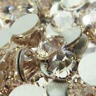 GENUINE Swarovski Light Silk (261) Crystal Gem (No hotfix) Flat back RhinestoneS