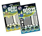 350 or 1000 Original Glow Stars Glow in Dark Stickers Moons Rockets Spaceships