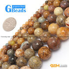 "Round Natural Crazy Lace Agate Loose Beads 15"" 4-14mm for Jewelry Crafts Making"