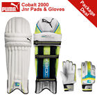 *NEW* PUMA COBALT 2000 JUNIOR CRICKET BATTING PADS AND GLOVES PACKAGE, RRP £50