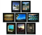 8 FRAMED SCENIC NATURE MOTIVATIONAL POSTERS BUNDLE 3 INSPIRATIONAL COLLECTION