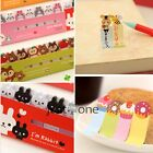 Cute 367 Series Kawaii Cartoon Pattern Todo Stick Marker Tips Post-it Notes Memo