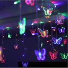 Multi-color Butterfly LED STRING Strip Holiday LIGHTS 3.5m 100SMD CHRISTMAS,WEDD