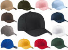 NEW Original FLEXFIT 100% Organic Cotton Fitted Cap Sport Baseball Hat F6590