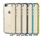 """Call Flashing Transparent TPU PC Hard Case Protector Cover for iPhone 6 4.7""""inch"""