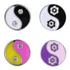 Lot Snaps Chunk Charm Button for Snap Jewelry Fit Leather Bracelet Necklace NEW