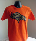 NFL<>DENVER BRONCOS<>CAMO LOGO T-SHIRT CREW NECK<>LICENSED APPAREL<> NEW! TAGS!