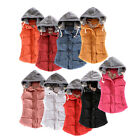 Fashion Winter Women Casual Hooded Vest Ladies Sleeveless Jacket Warm Waistcoat