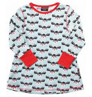 BNWT Girls Maxomorra Rudolph Long Sleeve Tunic Top NEW Christmas Reindeer Dress