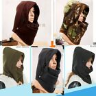 Outdoor Sports Full Face Cover Winter Knit Ski Hats Warm Men Women Mask Cap Gift