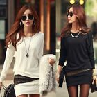 Fashion Women Long Sleeve Bodycon Slim Evening Sexy Party Cocktail Mini Dress