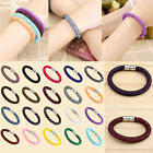 Fashion Womens Stardust Crystal Wrap Magnetic Clasp Mesh Bracelet Bangle Gift 1x