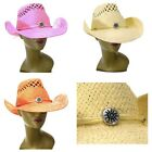 Western Cowgirl Diva Straw Cowboy Sun Hat Rodeo Hillbilly Redneck Diva New