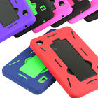 "For Alcatel One Touch POP 7"" 7.0 Tablet Dual Layer Hybrid Stand Hard Cover Case"
