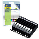8 Compatible Canon CLI-551GY Ink Cartridges for Pixma Printers