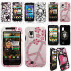 For Samsung Fascinate Showcase Mesmerize i500 Colorful Design Hard Case Cover