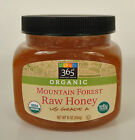365 Whole Foods Mountain Forest Organic Raw Honey US Grade A 16 OZ