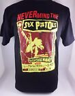 BLK NEVER MIND THE SEX PISTOLS JAPAN PUNK ROCKABILLY MEN'S T-SHIRT