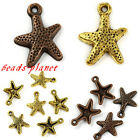 60PCS Fashion Beauty Cute Star Beads Pendant For Charm Bracelet Necklace Gift