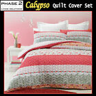 Calypso Quilted Quilt / Duvet Cover Set by Phase 2 - DOUBLE QUEEN KING