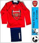BARGAIN PRICE! Boys Arsenal FC Gunners Full Length Pyjamas Set 3-4 Years Cotton