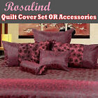 Rosalind Quilt Cover Set or Accessories by Phase 2 - SINGLE DOUBLE QUEEN KING