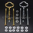 2 or 3 Tier Multi Style Cake Plate Stand Heavy Metal Handle Fitting Hardware Rod
