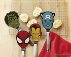NEW Marvel Superhero Hulk Captain America Spider-Man Iron Man Flexible Spatula